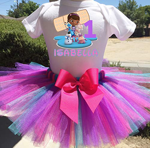Doc McStuffins Personalized Birthday Outfit Tutu Set -