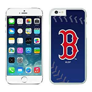 Boston Red Sox iPhone 6 Cases 3 White iphone 6 accessories-Plastic Case Cover for Iphone 6
