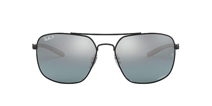 Ray-Ban 0RB8322CH Gafas de sol, Black, 62 para Hombre: Amazon.es ...