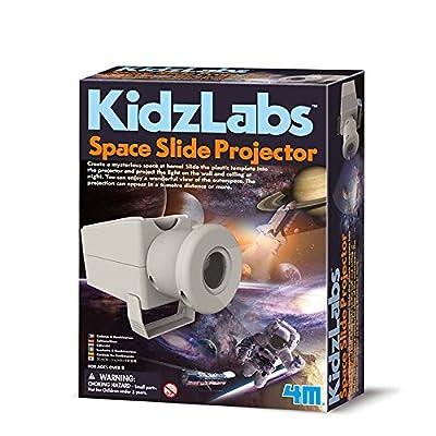 4M 68568 - Jeu de Construction - Kidz Labs - Projecteur de Diapositives Espace