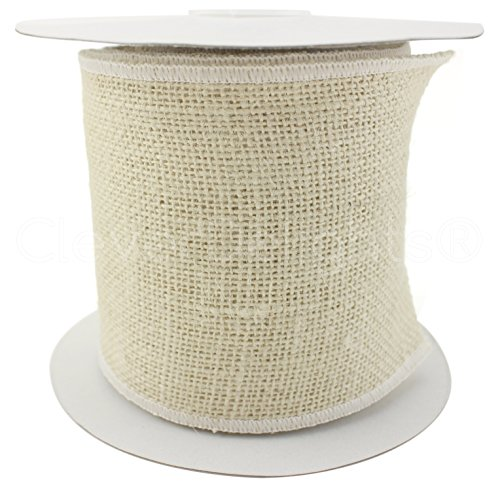 Ribbon Jute Ivory (CleverDelights 4