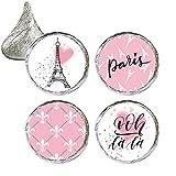 Paris Party Favor Stickers, 324 Count