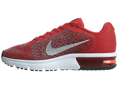 600 Trail university metallic Air Para De Zapatillas Silver Running 2 gs Multicolor Nike Max Hombre black Red Sequent wTdn076Bq