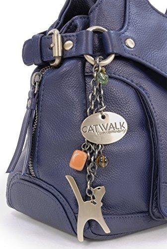 CATWALK COLLECTION - ROXANNA - Bolso de hombro - Cuero Oscuro Azul