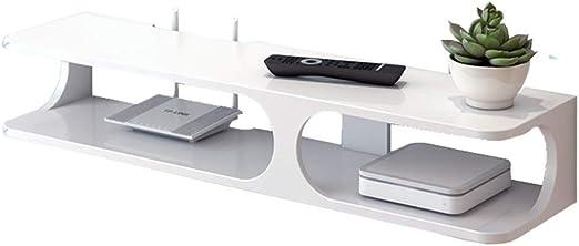 Mueble TV Salón Moderno Mesa Televisión Montado en la pared de TV ...