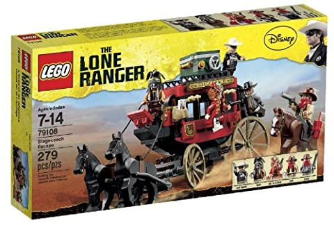 79108 getaway in LEGO Lone Ranger horse-drawn carriage (japan import)