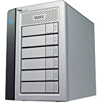 Promise Technologies Pegasus 6-Bay 24TB Hard Drive Enclosure (PR6HD24TUS)