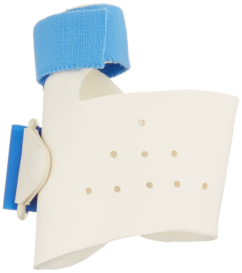 Sammons Preston Thumbkeeper with D-Ring, Right Medium, Thumb Splint with CMC Restriction and MP Immobilization, Thumb Brace for Post Surgery and Injury, Thumb Support Without Restriction of Fingers by Sammons Preston