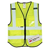 Salzmann 3M Multi Pocket Safety Vest, Highly Breathable Mesh Vest Meets ANSI/ISEA107