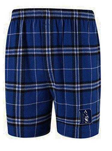 Duke Boxer (Concepts Sport Duke Blue Devils NCAA Men's Flannel Boxer Shorts XL 40-42)