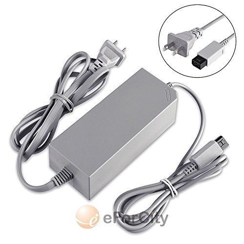 New! Nintendo Wii Replacement Wall Ac Power Adapter Supply Cord Cable Us Seller
