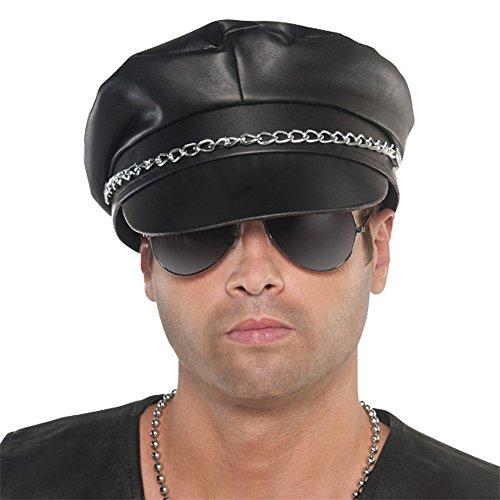 (Biker Punk Adult Costume Hat)