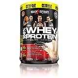 Six Star Pro Nutrition 100% Whey Protein Plus, Whey Protein Powder, Vanilla, 5 Pound
