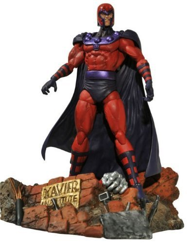 Diamond Select Toys Marvel Select  Magneto Action Figure by Diamond Select