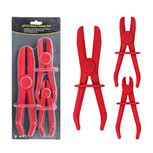 3 Piece Hose Pinch Pliers Flexible Hose Line Clamps Jaw Hose
