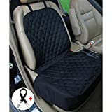 Cheap Amochien Pet Front Seat Cover Protector-Waterproof Oxford Soft Quilted Non-slip Backing Dog Front Seat Cover for Cars Seat Covers for Cars Front Seats Black