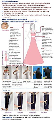 KAY&LAYLA Women's Beaded One-Shoulder Gown 2015 Short Homecoming Gown Red Size 14 by KAY&LAYLA (Image #5)