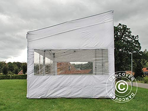 Carpa Plegable Carpa Rapida FleXtents Pro Trapezo 3x6m Blanco ...