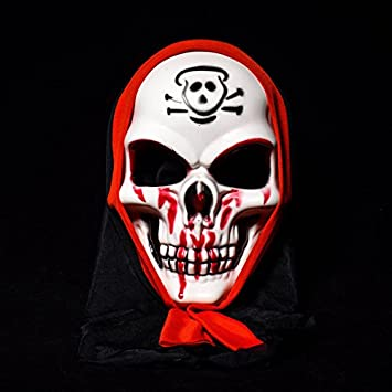 Brat Dissemble Halloween Terror Mask Halloween Supplies - Halloween Terror Mask Clown Skulls Vendetta Mask Stage