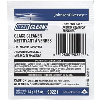 Cerveza Clean 90224 dispensador sistema bajo sudselectric cepillo cerveza limpia Cristal Limpiador, 1/2