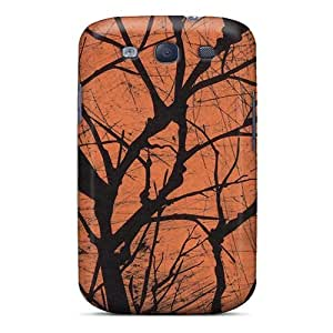 Cute Tpu MeSusges Halloween Creepy Tree Case Cover For Galaxy S3