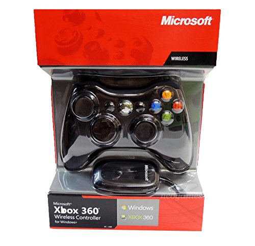 Xbox 360 Wireless Controller for Windows with Windows Wireless (Microsoft Wireless Gaming Receiver)