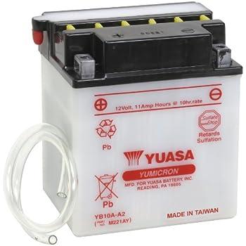 yuasa yuam221ay yb10a a2 battery automotive