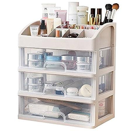 Gzpart Cosmétique Boîte De Rangement Maquillage Organiseur De Salle