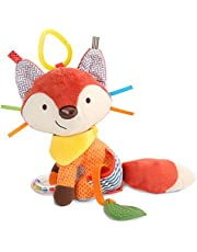 Skip Hop Bandana Buddies Baby Activity and Teething Toy with Multi-Sensory Rattle and Textures