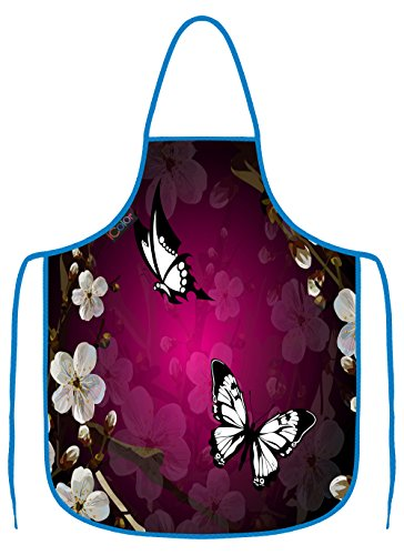 purple cooking aprons for women - 6