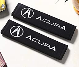 D&R® Set of 2 Seat Belt Covers Shoulder Pads For Acura