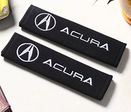 D R  Set Of 2 Seat Belt Covers Shoulder Pads For Acura