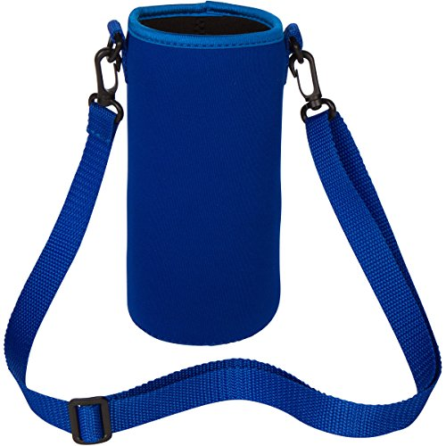 Neoprene Water Bottle Carrier Bag Pouch Cover, Insulated ...