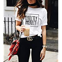 Blusa Playera Camiseta Dama Perfectly Imperfect Elite #508