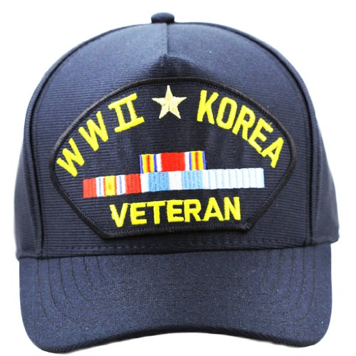 WWII Korea Veteran Hat For Men and Women Military Collectibles, Caps and Apparel