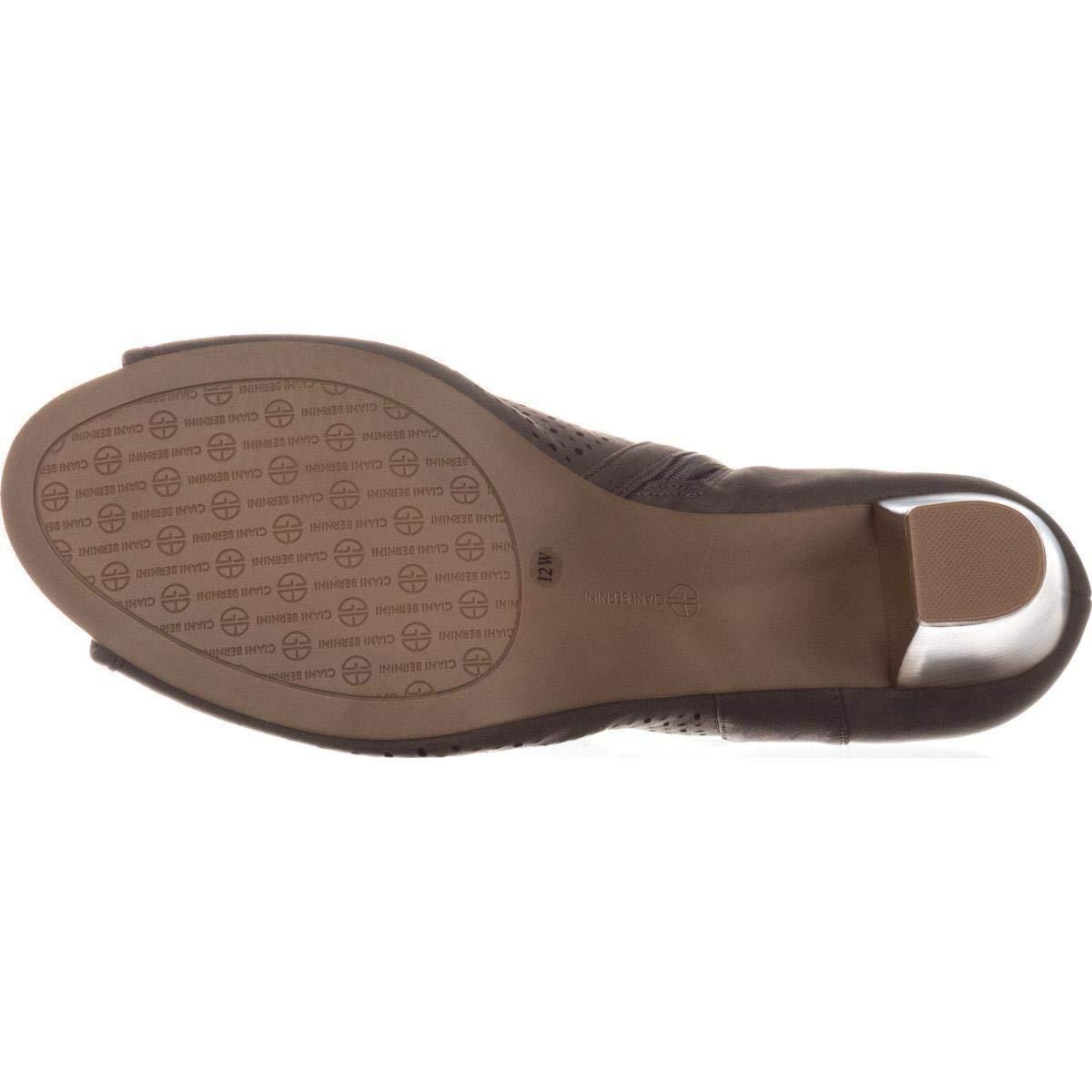 Giani Bernini Frauen Angye Offener Zeh Fashion Stiefel Stiefel Stiefel Grau Groesse 7 US  38 EU 4be089