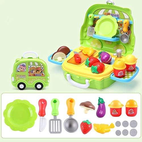 Alician Children's Kitchenware Cooking Set Table Pretend Pla