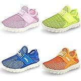 SENFI Kids Breathable Slip On Lightweight Sneakers Walking Shoes(Toddler/Little Kid)