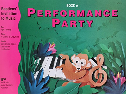WP278 - Bastien Invitation To Music Performance Party Book A ()