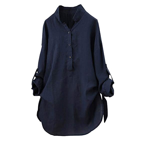 Lenfesh Camisetas Mujer Otoño Invierno de Hombro Blusa Mujer Tallas Grandes Camisas Manga Larga Elegante de Color sólido Top de Manga Larga 2018 Oferta: ...