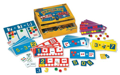 Lauri Math Discovery Educational Kit (Early Math Activity Center)