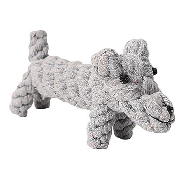 Emorias 1 Pcs Juguetes de Perros Cachorro Masticar Rascador para Gatos Mordida Dientes Mascotas Entrenamiento Accesorios: Amazon.es: Jardín