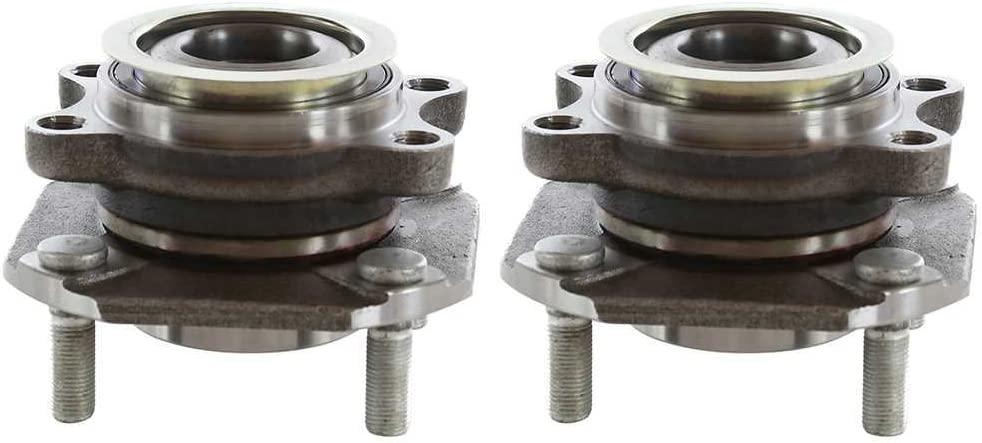 AutoShack HB613299PR Pair of 2 Wheel Bearing Hub Front Driver and ...