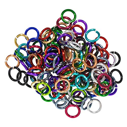 Wholesale Paracord Supplies (West Coast Paracord Jump Rings - 10 Millimeters - Jewelry Making - Loop for Earrings, Pendants, Keychains, and More)