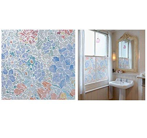 Bunte Fensterfolie Mondriaan Adhesive Klebefilm Bleiglas Look 0,45 m x 2 m Karo bunt