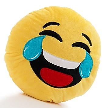 Euroweb Cojín Emoticono amarillo muerte de risa - emoj ...