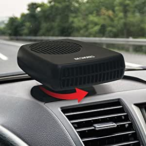ideaworks portable auto heater and defroster handy winter car window by carol. Black Bedroom Furniture Sets. Home Design Ideas