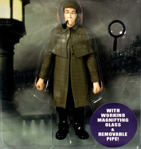 Accoutrements Sherlock Holmes Action Figure