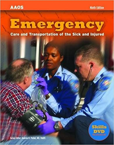 Emergency care and transportation of the sick and injured emergency care and transportation of the sick and injured 9780763729684 medicine health science books amazon fandeluxe Choice Image