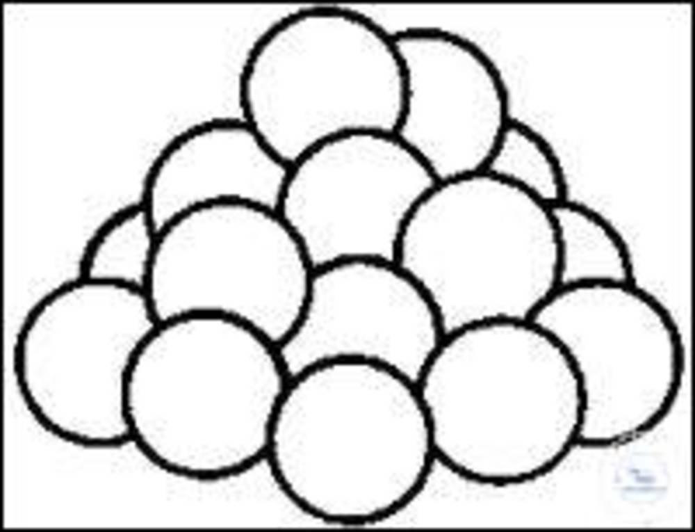 Perles de Verre Massif 100 g perle en verre, 1,5 mm - 2 mm, 1 SIM Products